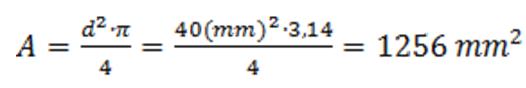 Formula surface piston