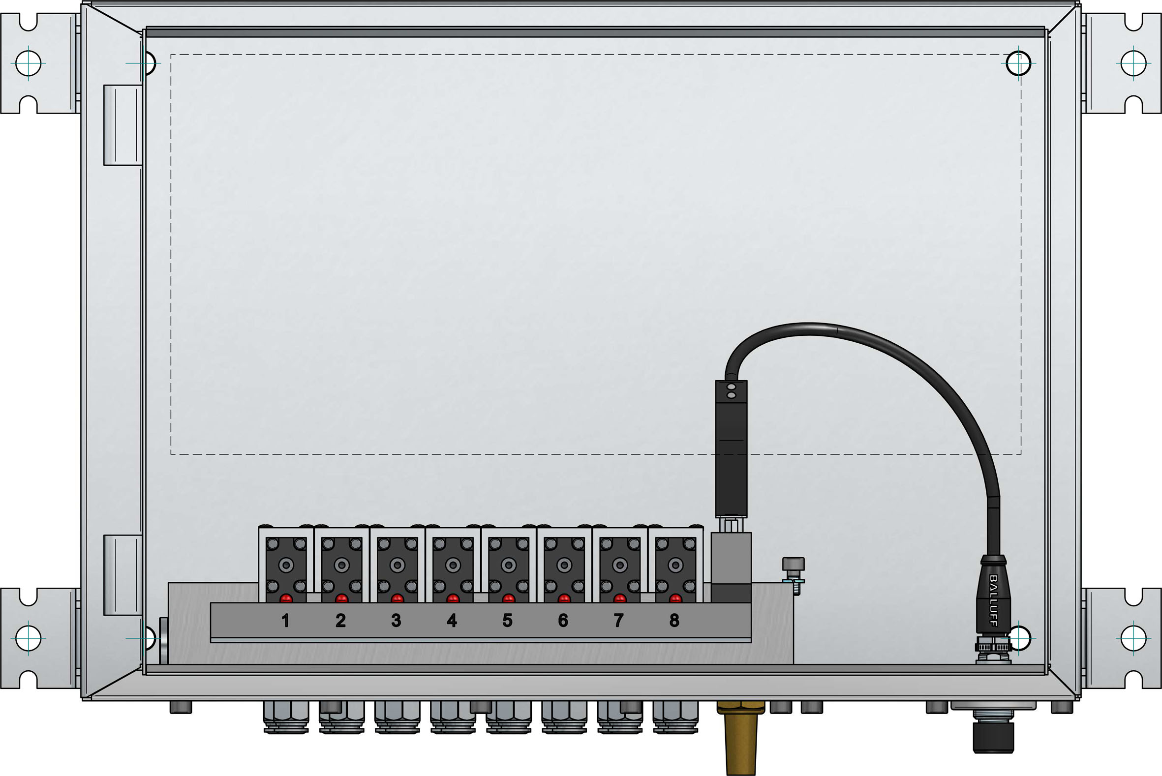 IO-Link Solenoid Cabinet