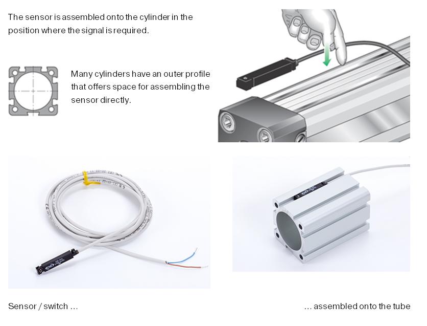 sensor cylinder