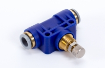 Bidirectional flow regulator valves