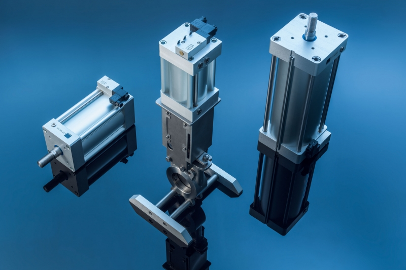 Linear Actuators with NAMUR-interface