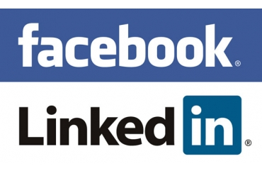 Facebook and LinkedIn